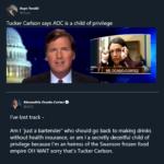 Political Memes Political, AOC, Carlson, Tucker Carlson, Tucker, OC text: Acyn Torabi @Acyn Alexandria Ocasio-Cortez @AOC I
