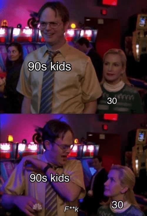 Depression, November, Dwight depression memes Depression, November, Dwight text: 90s kids 30 90s kids