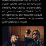 "Wholesome Memes Black, Cheers text: Mike ""l am the prize"" Jenkins @skinny_que Asked my baby momma for $500 a month to help with my son since she said she wasn"