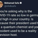 Political Memes Political, Germany, USA, Trump, German, TV text: Mohamad Safa O —S @mhdksafa If you