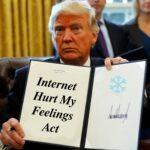 Political Memes Political, Trump, Youtube text: Internet Hurt My Feelings  Political, Trump, Youtube