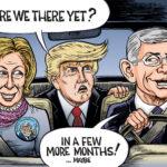 boomer memes Political, Trump, Fauci, Gates, Birx, Ben text: / SH 0 0