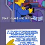Political Memes Political, No, Masterpiece Cakeshop, Republican, Obama, Christian text: DON