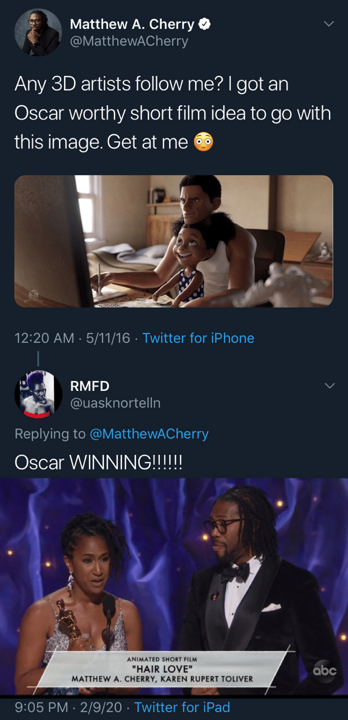 Black, Oscar, Grammy, Reddit, MatthewACherry, Kickstarter Wholesome Memes Black, Oscar, Grammy, Reddit, MatthewACherry, Kickstarter  May 2020