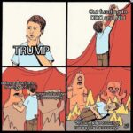 "Political Memes Political, Trump, CDC, Biden, China, Republican text: TRIJdiP delay pr6duction& oftesting kits ignore infectious disease experts Cut fundingto CDC and NIH ""Oh no, help! COV,lDais ruining the economy.""  Political, Trump, CDC, Biden, China, Republican"