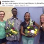 cringe memes Cringe, Tyronhe, Danisha, Tyronshe, Tyrone, TDC6 text: Alexandra Callich our class congratulated to tyronhe and danisha for being blacl Like Comment Share May