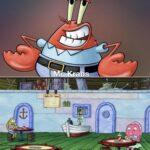 Spongebob Memes Spongebob, Krab Ahead Of His Time text:  Spongebob, Krab Ahead Of His Time