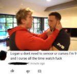 cringe memes Cringe, YouTube, Logan Paul text: Logan u dont need to sencor ur curses I