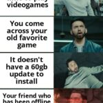 other memes Funny, Eminem, Minecraft, Godzilla, Xbox, RuneScape text: You get free time to play videogames You come across your old favorite game It doesn