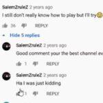 cringe memes Cringe,  text: SalernZruleZ 2 years ago I still don