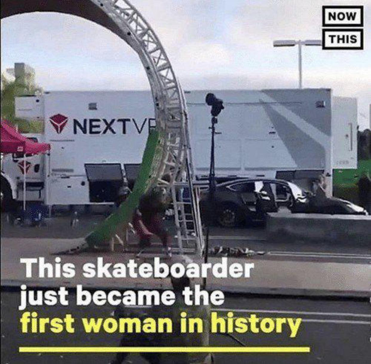 Cringe, Tony Hawk, VR, Next VR, Lizzie Armanto, Damn cringe memes Cringe, Tony Hawk, VR, Next VR, Lizzie Armanto, Damn text: NOW THIS 9 NEXTV This skateboarder just became the first woman in histor