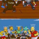 Political Memes Political, Biden, Americans text:  Political, Biden, Americans