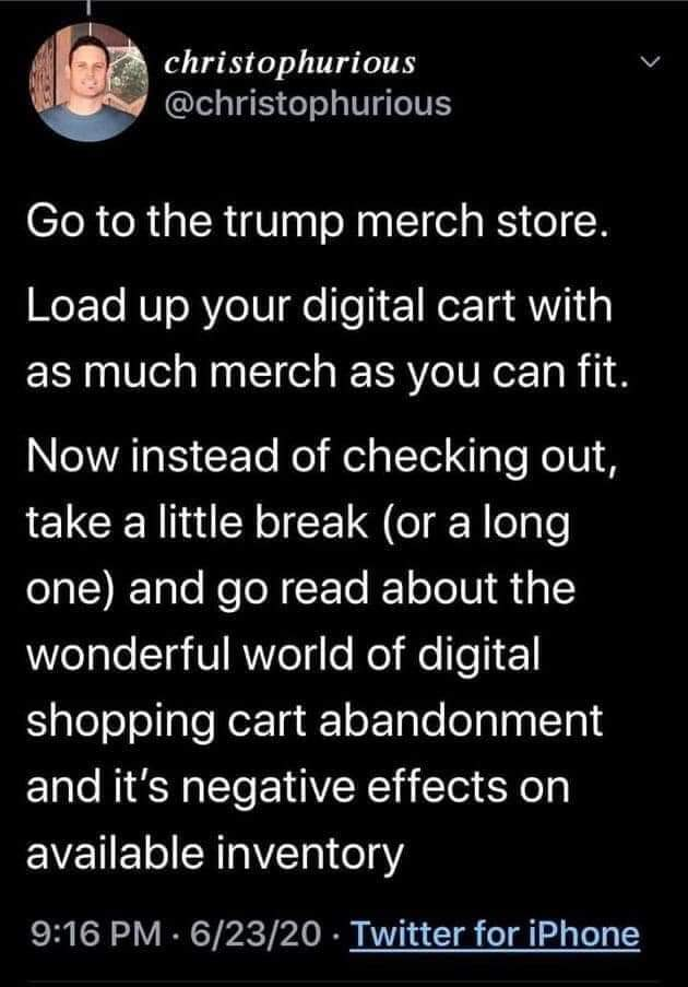 Political, Trump, Shopify, MAGA, Amazon, XL Political Memes Political, Trump, Shopify, MAGA, Amazon, XL  Jun 2020