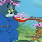 Wholesome Memes Wholesome memes, Jerry text: QUI my love Qr)d Qff ecti@n the sad you Ghe Caring  Wholesome memes, Jerry