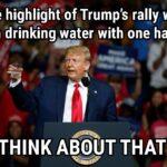 Political Memes Political, The President, President text: The highlight•of Trump
