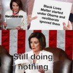 Political Memes Political, BLM text:  Political, BLM