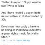 Political Memes Political, Trump, Utah, Tulsa, Oklahoma, LGBTQ  Jun 2020 Political, Trump, Utah, Tulsa, Oklahoma, LGBTQ