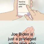 "Political Memes Political, Trump, Obama, Joe Biden, Bernie, America text: Hard to İle""  Political, Trump, Obama, Joe Biden, Bernie, America"
