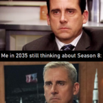 Game of thrones memes Game of thrones, GOT, The Office, GoT, Force, Game text: Me watching Season 8: Me in 2035 still thinking about Season 8: