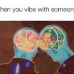 Wholesome Memes Wholesome memes,  text: When you vibe with someone  Wholesome memes,