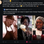 Wholesome Memes Black, America text: a tenderonie @PimpMami_ • 19h This young lady tweeted her black owned family dry cleaning business needed some support, why i pull up & they said they backed up until August due to folks coming to support