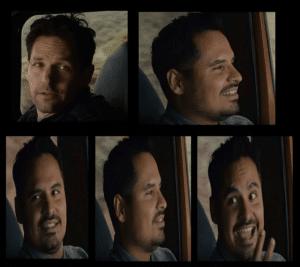 Antman talking to friend Opinion meme template