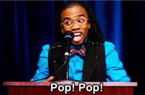 Magnitude Pop! Pop! Black Twitter meme template