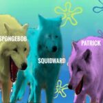 Spongebob Memes Spongebob, SpongeBob Edition, Laughing text: SPONGEBOB M PATRICK SQUIDWARD  Spongebob, SpongeBob Edition, Laughing