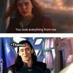 Avengers Memes Thanos,  text:  Thanos,