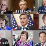 Political Memes Political, Trump, Republican, November, Mitt Romney, American text: Yo u R FA LED  Political, Trump, Republican, November, Mitt Romney, American