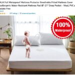 """cringe memes Cringe,  text: INGALIK Full Waterproof Mattress Protector Breathable Fitted Mattress Cover Hypoallergenic Water-Resistant Mattress Pad (8""""-21 """" Deep Pocket - Vinyl, PVC and Phthalate Free by INGALIK v 237 ratings 