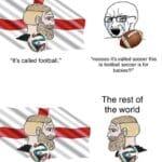 "Dank Memes Dank, American, Australia, Americans, Ireland, Football text: ""It"