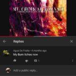 cringe memes Cringe, Good text: MYB Replies Agua De Fruita • 4 months ago My Bum itches now Add a public reply... Agua De Fruita • 4 months ago good song tho  Cringe, Good