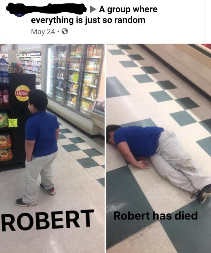 Cringe, Robert Paulson, PeNgU1, OBERT, IP Robert, DBI cringe memes Cringe, Robert Paulson, PeNgU1, OBERT, IP Robert, DBI text: A group where everything is just so random May 24 •e Liptcx ROBERT Robert as ied