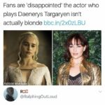 other memes Dank, Santa text: BBC Three @bbcthree Fans are disappointedl the actor who plays Daenerys Targaryen isn