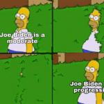 Political Memes Political, Trump text: a nioderate JoeìBiden&ao progressive  Political, Trump