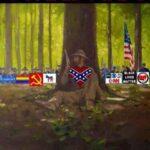 boomer memes Political, America, Democrats, Confederacy, CNN, Antifa text: STAND FIRM AGAINST Al-l- ODDS
