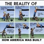 Political Memes Political, America, Tulsa, Industrial, Democrats, Asians text: THE REALITY OF I