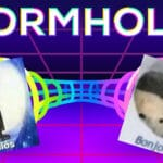 other memes Funny, French, THEORY, Spanish, MEME THEORY, Latino text: WORMHOLES Adi0S 0/00r  Funny, French, THEORY, Spanish, MEME THEORY, Latino