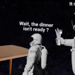 Dank Memes Dank, Fuck, Dinner text: It never was Wait, the dinner isn