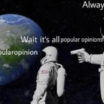 Dank Memes Dank, Ohio, Reddit, BLM, American text: Always has been Wait it