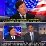 "Political Memes Political, Tucker Carlson, Trump, Parkland, Duty, Carlson text: ""IF THEY"