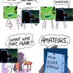 Spongebob Memes Spongebob, Ztks5, US8 text: I AM THE SCARIEST CREATURE IN BIKINI NO WAY I BOTTOM AM WHAT was THAT, PUNK? OWLTURD.com S ACORTEURS. AmATEURS. made with mematic  Spongebob, Ztks5, US8