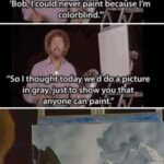 "Wholesome Memes Wholesome memes, Bob Ross, Mr, Mom, God text: ""l had a man come to"