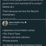 Political Memes Political, Wohl, America, Japanese, April, Americans text: Jacob Wohl O @JacobAWohl Remember that period in American history when people were crushed by the government and marched off to camps? Neither do l. That