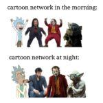other memes Dank, Toonami text: cartoon network in the morning: cartoon network at night:  Dank, Toonami