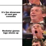 other memes Funny, GTA, Remastered, Skyrim, Rockstar, RDR2 text: It