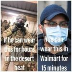 other memes Dank, Walmart, Karen, COVID, Americans, WalMart text: wear L9Sfor@u
