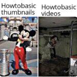 Dank Memes Dank, OC, Visit, Negative, JPEG, Feedback text: Howtobasic Howtobasic thumbnails videos  Dank, OC, Visit, Negative, JPEG, Feedback