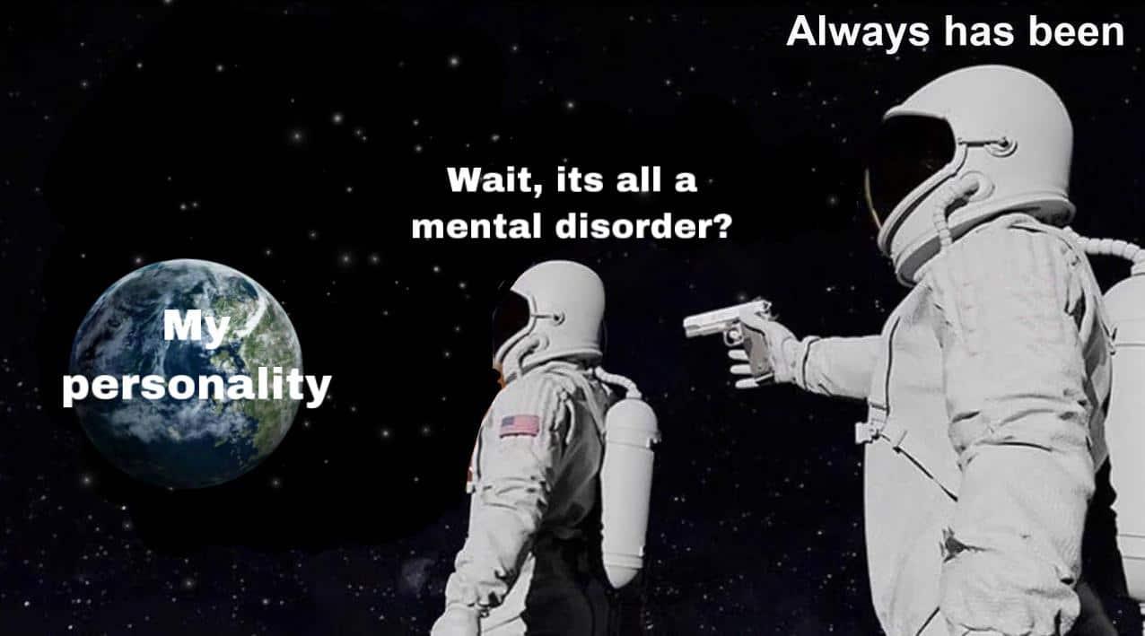 Depression, BPD depression memes Depression, BPD text: